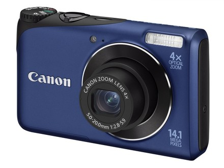 Canon PowerShot A2200 modrý