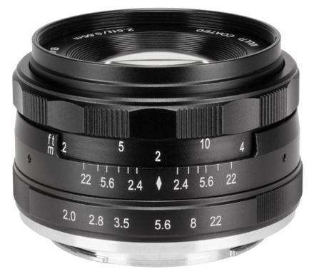 Meike MK 50mm f/2,0 pro Micro 4/3
