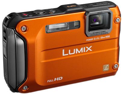 Panasonic Lumix DMC-FT3 oranžový