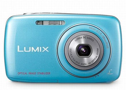 Panasonic Lumix DMC-S3 modrý