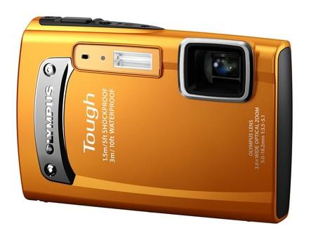 Olympus TG-310 oranžový