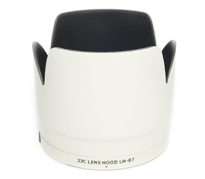 JJC sluneční clona Canon ET-87 white (LH-87)