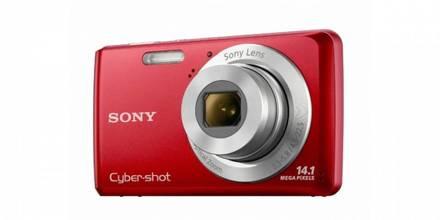 Sony CyberShot DSC-W520 červený