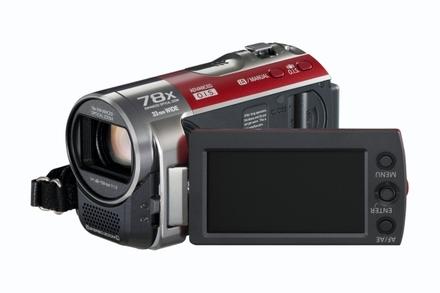 Panasonic SDR-S70 červená