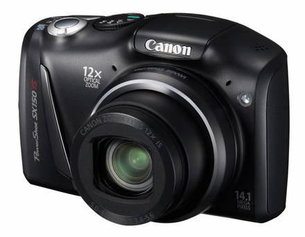 Canon PowerShot SX150 IS černý + 4GB karta + pouzdro Dashpoint 20!