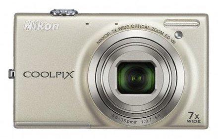 Nikon Coolpix S6150 stříbrný