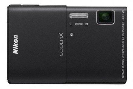 Nikon Coolpix S100 černý