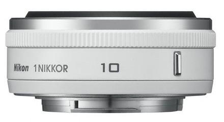 Nikon 1 10mm f/2,8 bílý