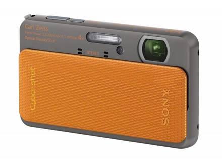 Sony CyberShot DSC-TX20 oranžový