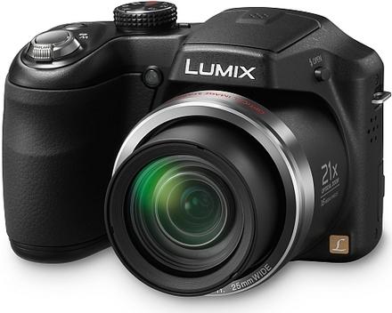 Panasonic Lumix DMC-LZ20 černý
