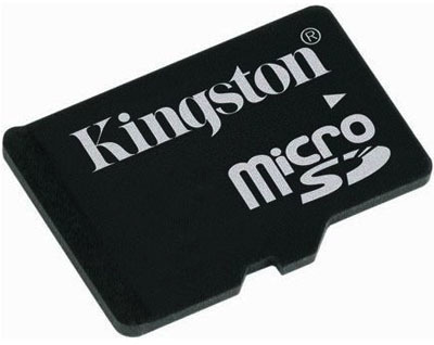 Kingston Micro SD 2 GB + adaptér SD