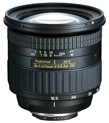 Tokina AT-X 16,5-135 mm F 3,5-5,6 DX pro Canon