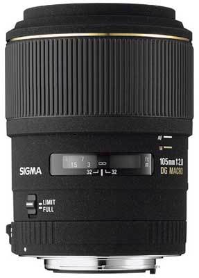 Sigma 105mm F 2,8 EX DG MACRO pro Olympus + utěrka Sigma zdarma!