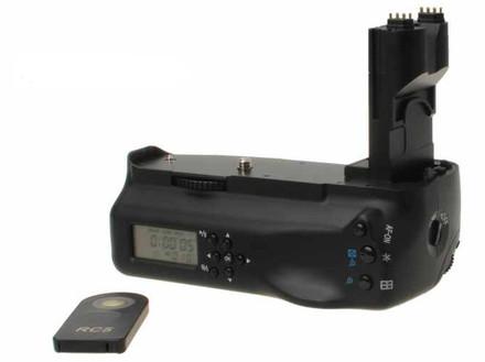 Aputure bateriový grip s displejem BP-E7II (Canon BG-E7)