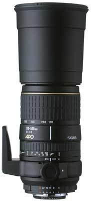 Sigma 170-500 mm F 5,0-6,3 APO DG ASPHERICAL RF pro Canon