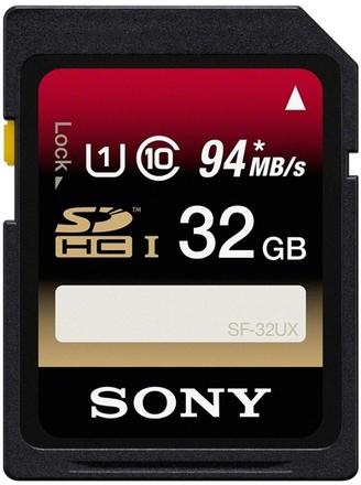 Sony 32GB SDHC 94MB/s Class 10