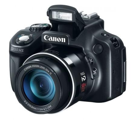 Canon PowerShot SX60 HS + 16GB karta + brašna 14Z + adaptér + PL filtr 58mm + poutko na ruku!