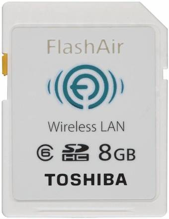 Toshiba SDHC 8GB FlashAir Wireless