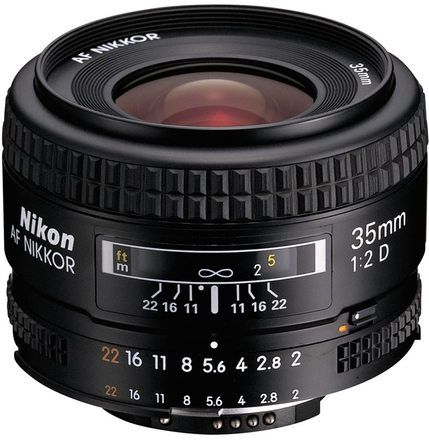 Nikon 35mm f/2,0 AF NIKKOR D A
