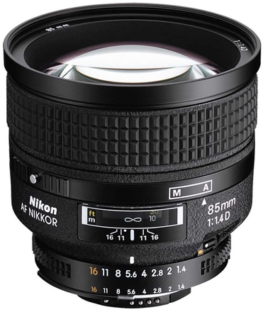 Nikon 85mm f/1,4 AF NIKKOR D A s HN-31
