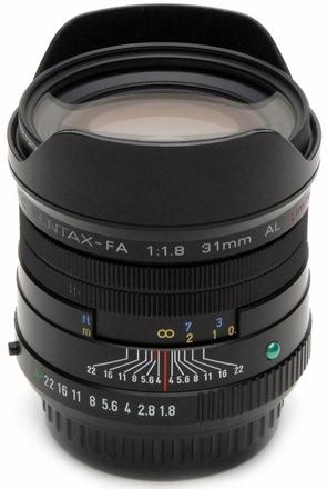 Pentax SMC FA 31mm f/1,8 limited