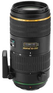 Pentax DA 60-250mm f/4,0 ED (IF)