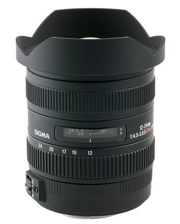 Sigma 12-24mm f/4,5-5,6 ll DG HSM pro Nikon