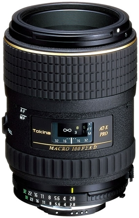 Tokina AT-X 100mm f/2,8 AF PRO D pro Canon