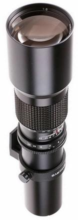 Samyang 500mm f/8,0 Preset Olympus 4/3