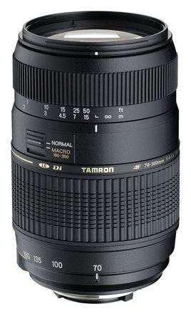 Tamron AF 70-300mm f/4,0-5,6 Di LD Macro pro Canon