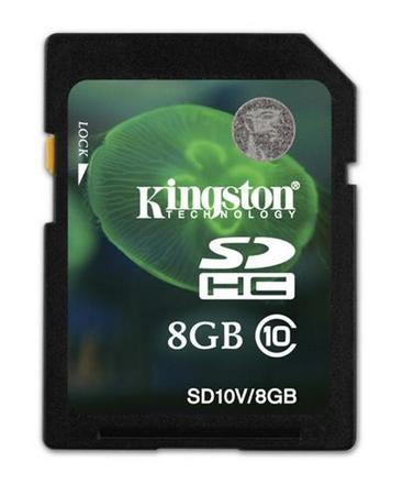Kingston SDHC 8GB Class 10