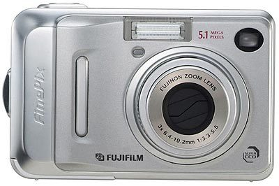 Fuji FinePix A500 stříbrný