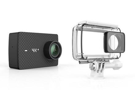 YI 4K + akční sportovní kamera + voděodolný kryt
