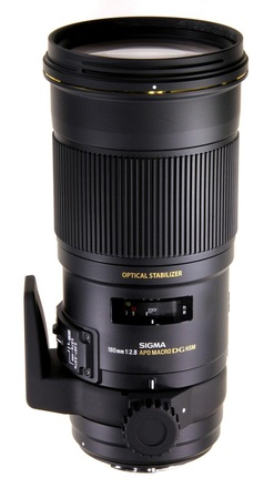 Sigma 180mm f/2,8 APO MACRO EX DG OS HSM pro Canon