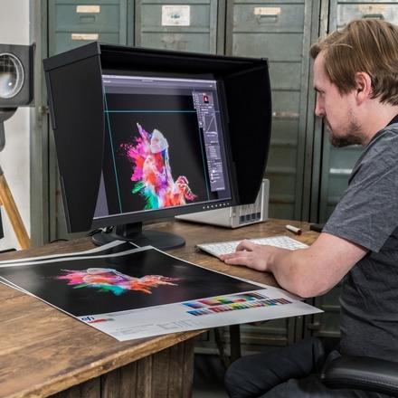 Aby barvy na monitoru seděly