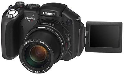 Canon PowerShot S3 IS + Zoner 7 + 1GB SD karta!