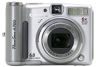 Canon PowerShot A700 + SW Zoner 9 CZ zdarma!