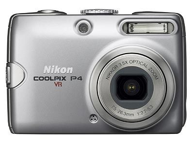 Nikon Coolpix P4 + SD 512 MB