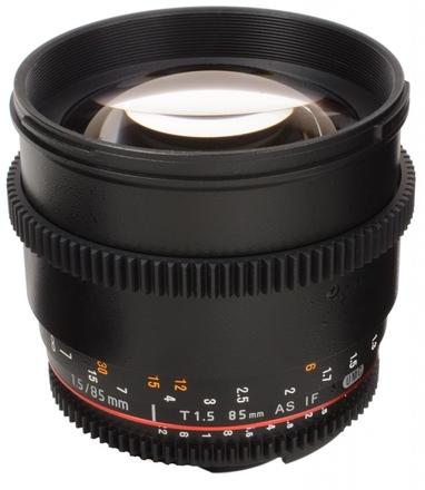 Samyang CINE 85mm T/1,5 VDSLR II pro Fuji X