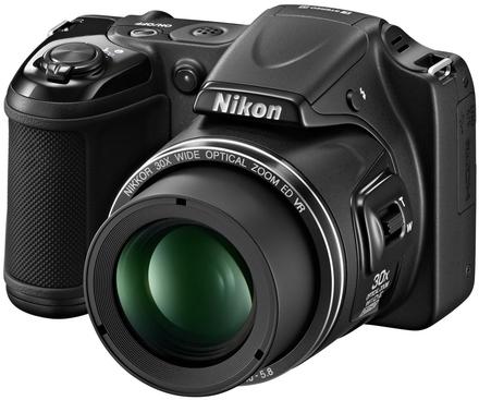 Nikon CoolPix L820 černý + 8GB karta + brašna DFV42 + adaptér na filtr + PL filtr 62mm!