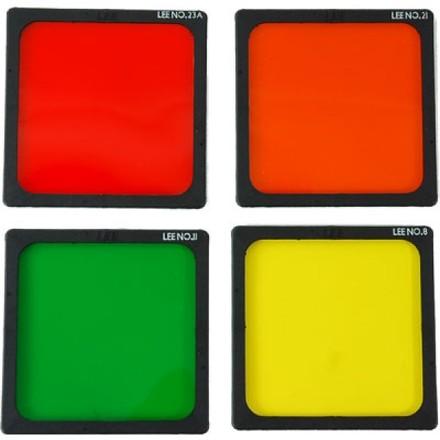 LEE Filters RF75 set filtrů Black and White - sada No.8, 11 a 23a Standard