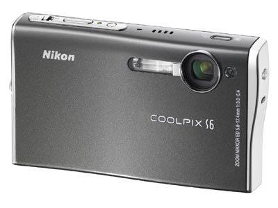 Nikon Coolpix S6 šedý