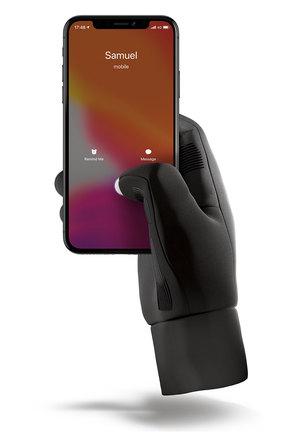 Mujjo dotykové rukavice, velikost XL černé