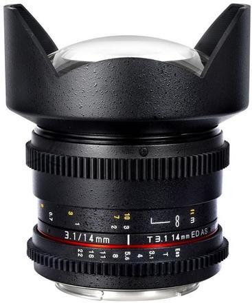 Samyang CINE 14mm T/3,1 VDSLR pro Sony E