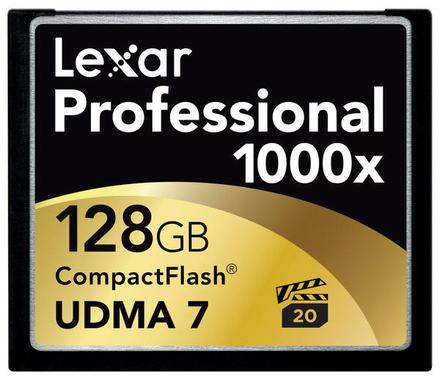 Lexar CF 128GB 1000x Professional