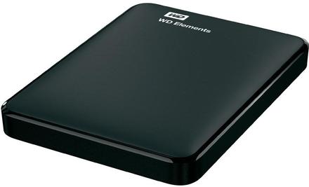 "Western Digital Elements Portable 2TB, 2.5"" USB 3.0, černý"