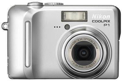 Nikon Coolpix P1 stříbrná