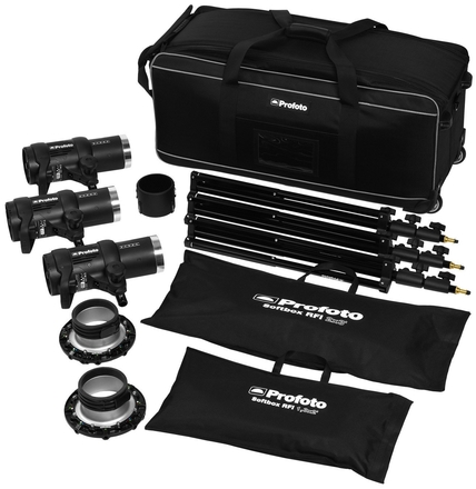 Profoto D1 studio kit 500/500/1000 Air