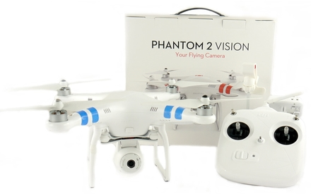 DJI kvadrokoptéra F310 Phantom 2 VISION RC set + náhradní akumulátor!