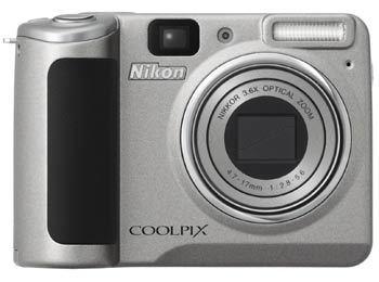 Nikon Coolpix P50 stříbrný